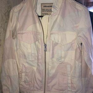 zadig & voltaire jean jacket